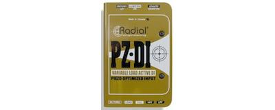 Radial PZ-DI Orchestral Instrument DI