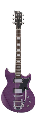 Reverend Sensei Limited Edition 2016 Purple Flame Maple