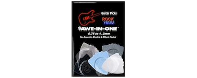 Awe-In-One Picks - Rock Vibes Sampler