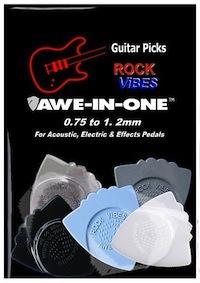 Awe-In-One Picks - Rock Vibes Sampler