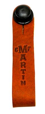 Martin Headstock Strap Tie Brown