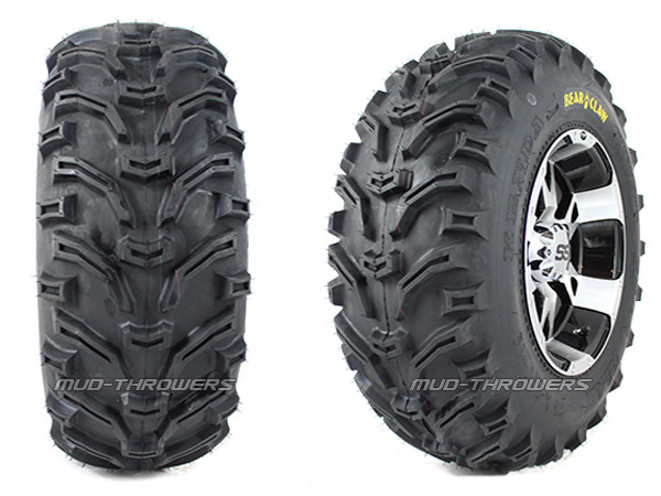 Kenda Bear Claw ATV Mud Tire, 25-8-12 pictured