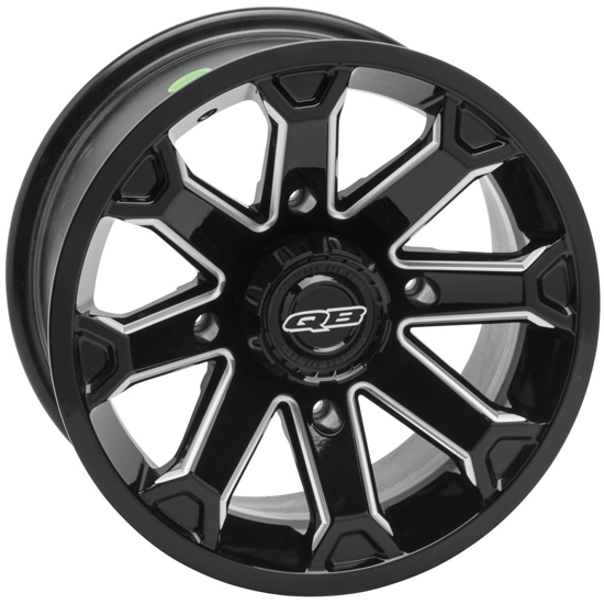 Quadboss Blitz Black UTV Wheel
