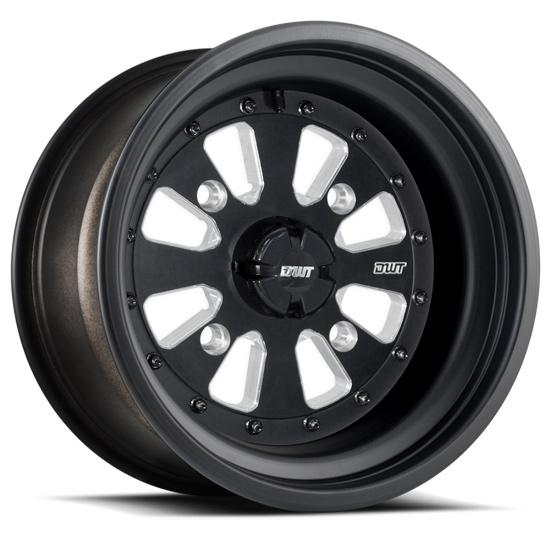 DWT Sector El Arco Black Rolled Lip Wheels