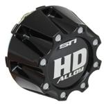STI HD3 Gloss Black Center Caps