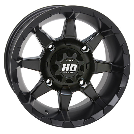 STI HD6 Black UTV Wheels