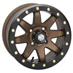 STI HD9 Beadlock Bronze ATV Wheels