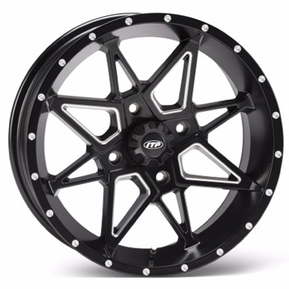 ITP Tornado Milled Black Wheel