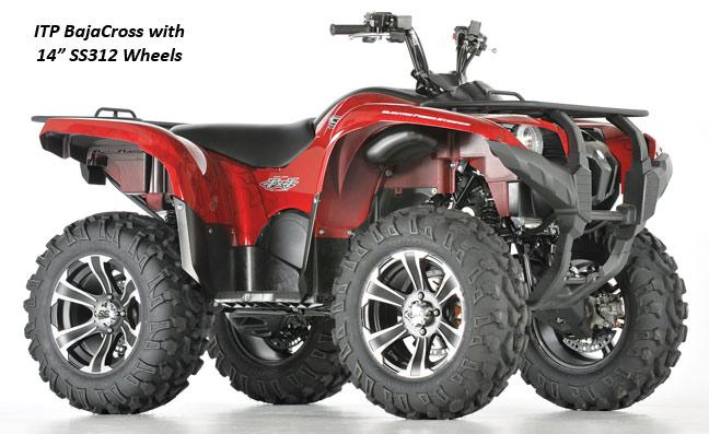 ITP BajaCross Kit SS312 Wheels