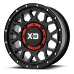 KMC XS135 Grenade Beadlock Black Wheel