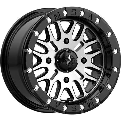 MSA M37 Brute Beadlock Wheels