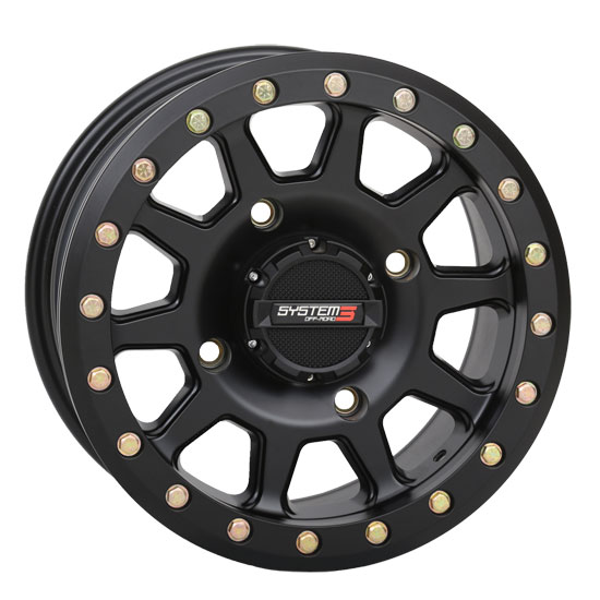 System 3 SB-3 Beadlock Black Wheels