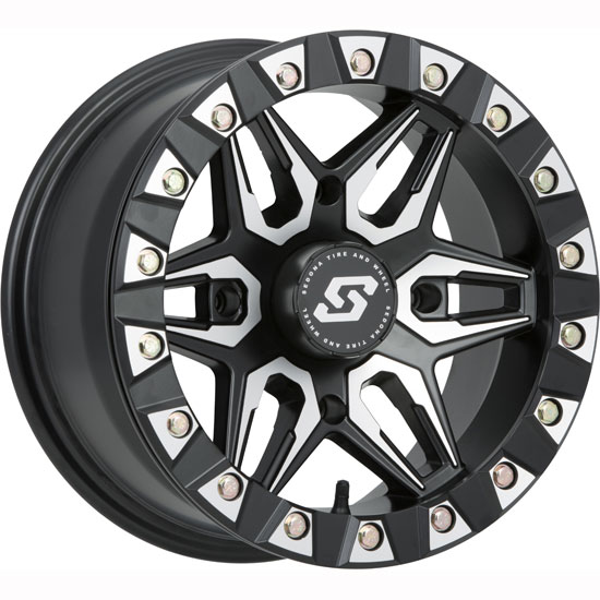Sedona Split 6 Machine Beadlock Wheel