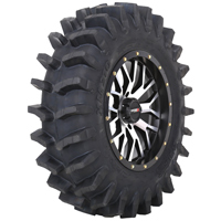 System 3 XM310 Mud Tire Wheel Package