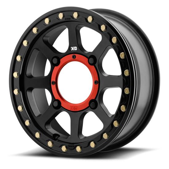 KMC XS234 Addict 2 Beadlock Black Wheel