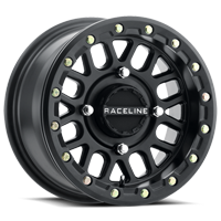 Raceline A93B Podium Black Beadlock Wheel