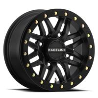 Raceline A91B Ryno Black Beadlock Wheel