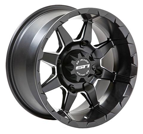 STI HD6 Black UTV Wheels