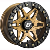 Sedona Split 6 Bronze Beadlock Wheel