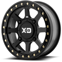 KMC XS234 Addict 2 Beadlock Black Wheel