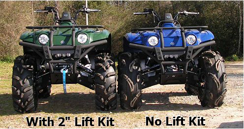 Xtreme ATV Lift Kits : ATV Tire Kits : Mud-Throwers com