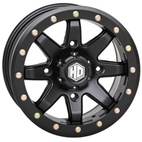 STI HD9 Beadlock Black Wheels