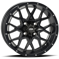 ITP Hurricane Matte Black Wheel