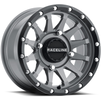 Raceline A95SG Stealth Gray UTV Wheel