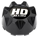 STI HD5 Black Center Caps