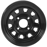 ITP Black Delta Steel ATV Utility Wheel