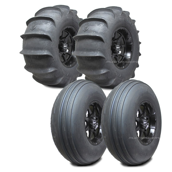 Pro Armor Sand Paddle Tires RZR Turbo Package