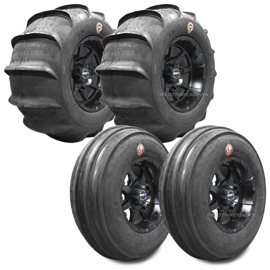 GMZ Sand Stripper Paddle Tires 28 RZR 1000