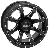 Quadboss Grinder Black UTV Wheel
