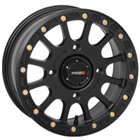 System 3 SB-4 Beadlock Black Wheels