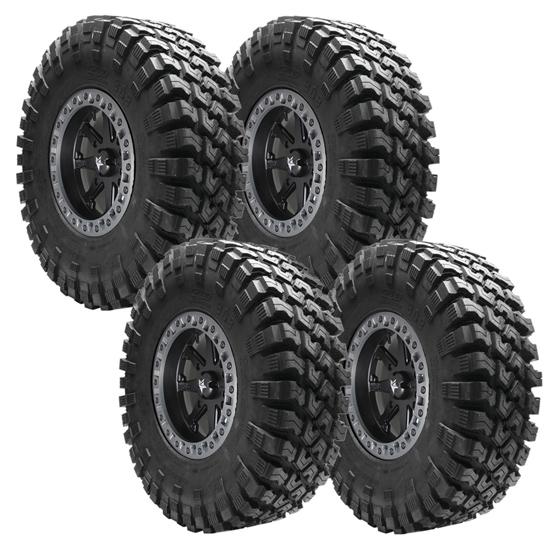 Quadboss QBT808 15 Tire Wheel Package