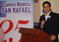 Gabriel Garcia, director administrativo del Centro Medico San Rafael