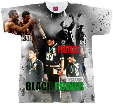 4e9267c12a6 68 Carlos   Smith Mens (Unisex) Sublimation Tee. Black History Shirts. (68  Carlos   Smith )