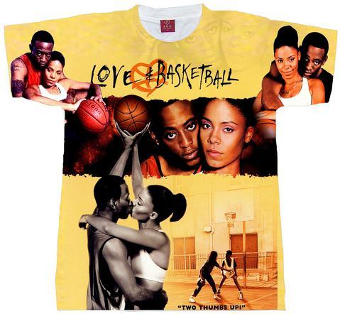 Love And Basketball All Over Print