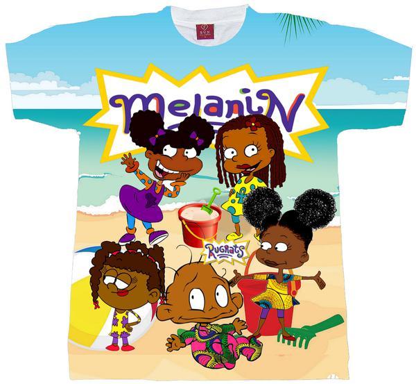 Melanin Rugrats Beacht Shirt