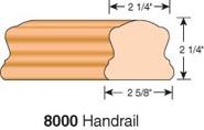 # 8000 stair handrail