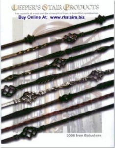 Leeper's Stair Products 2006 Iron Balusters Catalog