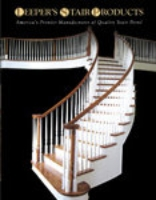Leeper's Stair Products, wood newels, wood balusters, handrails, oak treads, handrail fittings and more!