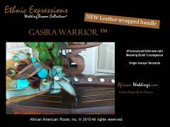 The Gasira Warrior Wedding Jumping Broom