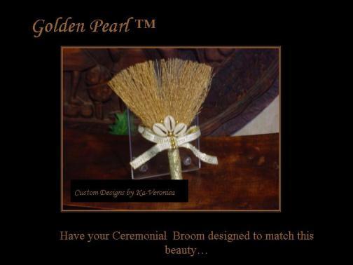 The Golden Pearl  Broom Favor