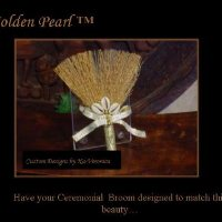 The Golden Pearl  Broom Favor