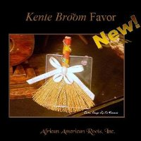Heritage Kente Broom Favor
