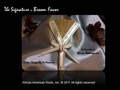 The Signature Wedding Broom Favor