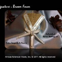 The Signature Wedding Broom Favor