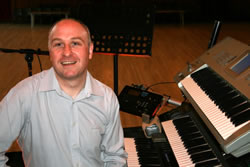 Alan McPike creates custom tracks for singers or musicians.