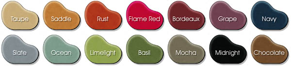 Microfiber Bean Bag Colors